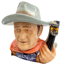 More details for royal doulton john wayne character jug of the year d7269 rare cabinet condition