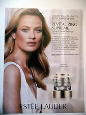 PUBLICITE-ADVERTISING :  ESTEE LAUDER Revitalizing Supreme  2016 Cosmétique