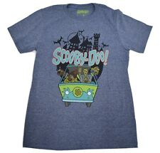 Scooby Doo! Mens Full Gang In Mystery Machine Running Scared Shirt New S, M, L
