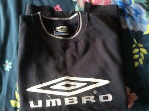 Mens Umbro Navy Sweatshirt - Size XL