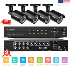 Hd 8Ch 1080P Dvr Outdoor Home Surveillance Security Camera System Video Recorder