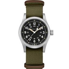 Hamilton H69439931 Field Hand Wind Men's Watch - Khaki