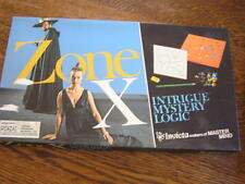 Invicta Ltd 1975 ZONE X Board Game of Intrigue~Mystery~Logic For 2 Players