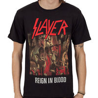 SLAYER Reign In Blood T-shirt NEW OFFICIAL MERCHANDISE All Sizes Angel Of Death