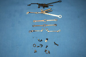 American Flyer K-5 Pacific Loco Linkage & Side Rods. Full Set. for #310,312