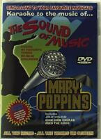 Karaoke To The Music Of The Sound Of Music And Mary Poppins [DVD][Region 2]