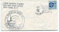 1959 USNS Sagitta T-AK87 New York Sealift for Security Polar Arctic Oper. Cover