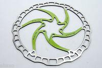 Ashima Airotor Mountain Bike Disc Brake Rotor MTB 180mm 180 mm 112g GREEN
