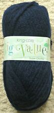 King Cole Big Value Super Chunky 100gm Balls 12 Colours 28 Navy