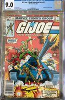 G.I. Joe 1 - CGC 9.0 (First Marvel G.I. Joe) Newsstand Variant
