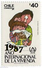 Chile 1987 #1265 Año Internacional de la Vivienda MNH