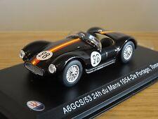 LEO MASERATI A6GCS/53 24 DU LE MANS 1954 DE PORTAGO TOMASI CAR MODEL HD33 1:43
