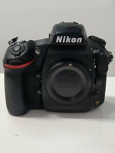 Nikon D810 DSLR Camera (Body Only) - Black