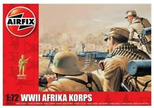 Airfix A00711 WWII Afrika Corps Figures 1:72 Scale Kit