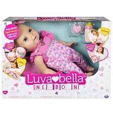 Luvabella™ Newborn Interactive Baby Doll (Blonde Hair)
