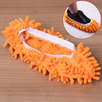 2x Home Mop Sweep Floor Cleaning Duster Cloth Housework Lazy Soft Slipper gut