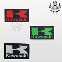 Kawasaki Motor Bike Brand Logo Patch Iron On Patch Sew On Embroidered Patch