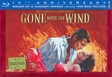 New, GONE WITH THE WIND, 70TH ANNIVERSARY EDITION, BLU RAY BOX SET,  SEALED!