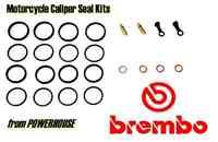 Ducati 848 EVO 2011 2012 2013 11 12 13 Brembo front brake caliper seal kit