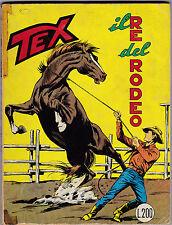TEX N° 84 OTTOBRE 1967 IL RE DEL RODEO L.200  1 EDIZIONE ORIGINALE  L-5
