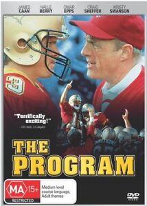 The Program DVD Region 4 Rare James Caan Halle Berry