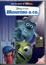 MONSTER & CO. - DVD DISNEY NUOVO E SIGILLATO, Ologramma Tondo, RARO