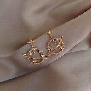 2021 Elegant Bee Zircon Crystal Drop Dangle Earrings Stud Women Wedding Jewelry