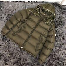 Moncler Chevalier khaki puffer goose coat down Size 6 XL