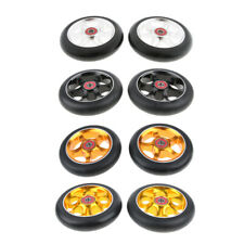2Pcs Pro Stunt Scooter Wheel 110mm Replacement Wheels with ABEC-9 Bearing