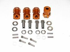 YY-MADMAX Aluminum 19mm Wheel Spacer Widener extension Axial SCX10/AX10 ORANGE