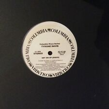 """TYRONE DAVIS """" GET ON UP """" / """" IN THE MOOD """" NEW DISCO DANCE SOUL UK 12"""