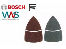 BOSCH 2x  Reinigungs Schleifvlies für Metall mittel und fein für Multischleifer