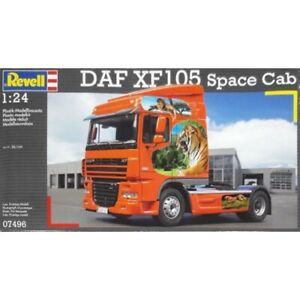 Revell 1/24 DAF XF 105 Space Cab Kit (New)