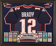 Brady, Mahomes ect. Custom Frame your Nike, signed autographed jersey Deluxe NFL
