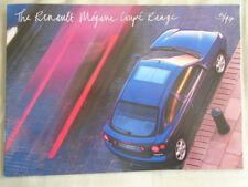 Renault Megane Coupe range brochure May 1997