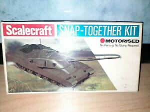 Scalecraft Chieftan Tank. Motorised. Boxed.
