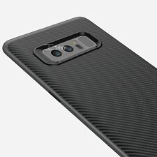 Samsung Note 8 Cover Case Noziroh Hybrid 3D Carbon Antishock Frosted Shockproof