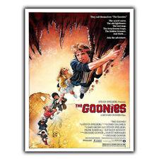 THE GOONIES 1985 METAL SIGN PLAQUE Vintage Retro Advert Poster Print