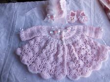 Crochet pattern, for baby Annabelle, Chou chou and Daisy may dolls.
