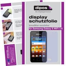 1x Samsung Galaxy S WiFi 3.6 Protector de Pantalla transparente