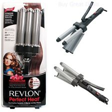 New 3-Barrel Jumbo Waver Ceramic Hair Styling Styler Curl Curling