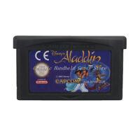 Disney's Aladdin GBA Game Boy Advance Cartridge EU English