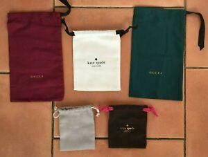 Designer Logo on Gucci-Michael Kors-Kate Spade Material Gift Bags