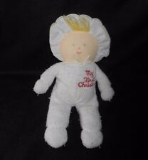 VINTAGE EDEN BABY TERRY CLOTH MY FIRST CHRISTMAS DOLL STUFFED ANIMAL PLUSH TOY