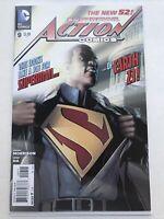 Action Comics 9, DC 2012, Clavin Ellis Superman