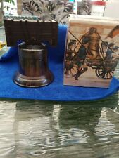 Vintage Avon Liberty Bell Decanter Deep Woods After Shave with Box. Used