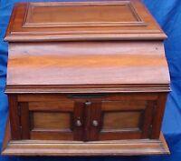 Case Box Pathephone N 36 Walnut Wood Gramophone Noyer in excellent & nice shape