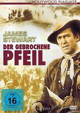 DVD NEU/OVP - Der gebrochene Pfeil - James Stewart, Debra Paget & Jeff Chandler