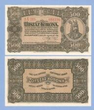 Hungary, 500 korona, 1923, with imprint, UNC, P 74a