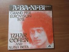 70er Jahre - Izhar Cohen and Alpha Beta - A-Ba-Ni-Bi - Grand Prix Eurovision ´78